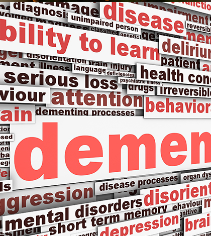 stages of dementia and symptoms