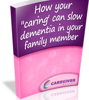 How your caring can slow dementia in your family member