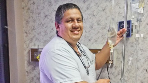 """Fab Cabrera and a hospital administrator have started a new podcast called """"The Nursing Revolution."""""""
